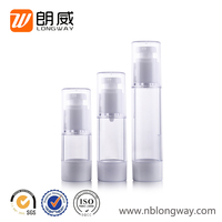 factory direct sale high quality plastic cosmetic airless bottle