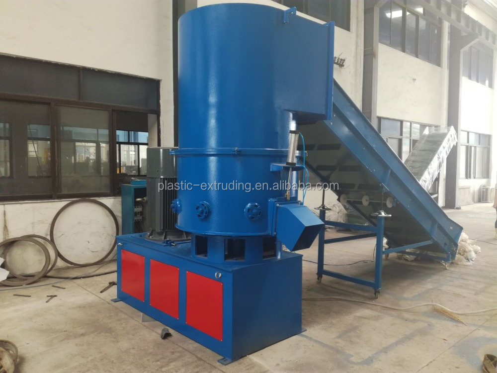 Recycling Plastic Film Agglomerator Agglomerate / LDPE HDPE Film Densifier