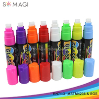new arrival stationery 10mm nib water based dry erase liquid chalk marker pen