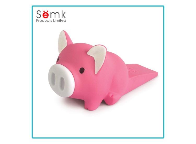 Novelty cute soft door stopper pig shaped rubber stopper for door buy soft door stopper cute - Cute door stoppers ...
