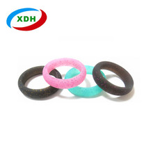 Hot Sell in Amazon Sport Silicone Ring Wedding Ring