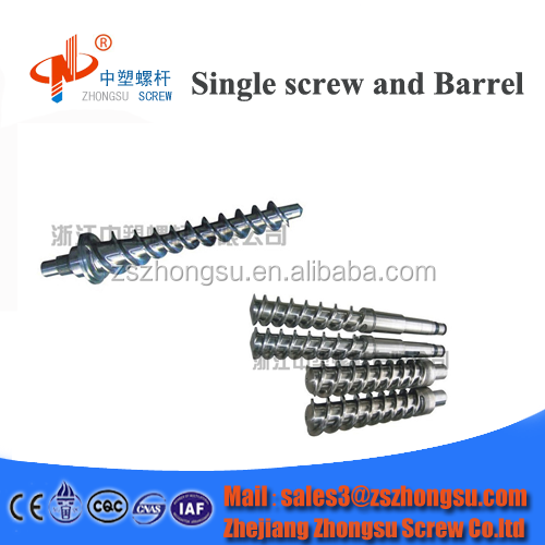 Rubber forming Tungsten alloy wearable screw and barrel