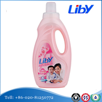 Liby Fabric Softener Makes Clothing Puff And Soft