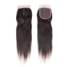 Natural Closure Lace Brazilian Human Hair Sew In Weave,100% Brazil Human Hair Extension,Virgin Brazilian Hair Extension Human