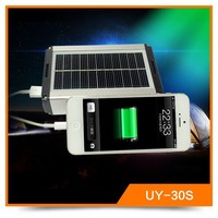 10400mAh Portablel Smart Solar Power Bank With LED Lamp