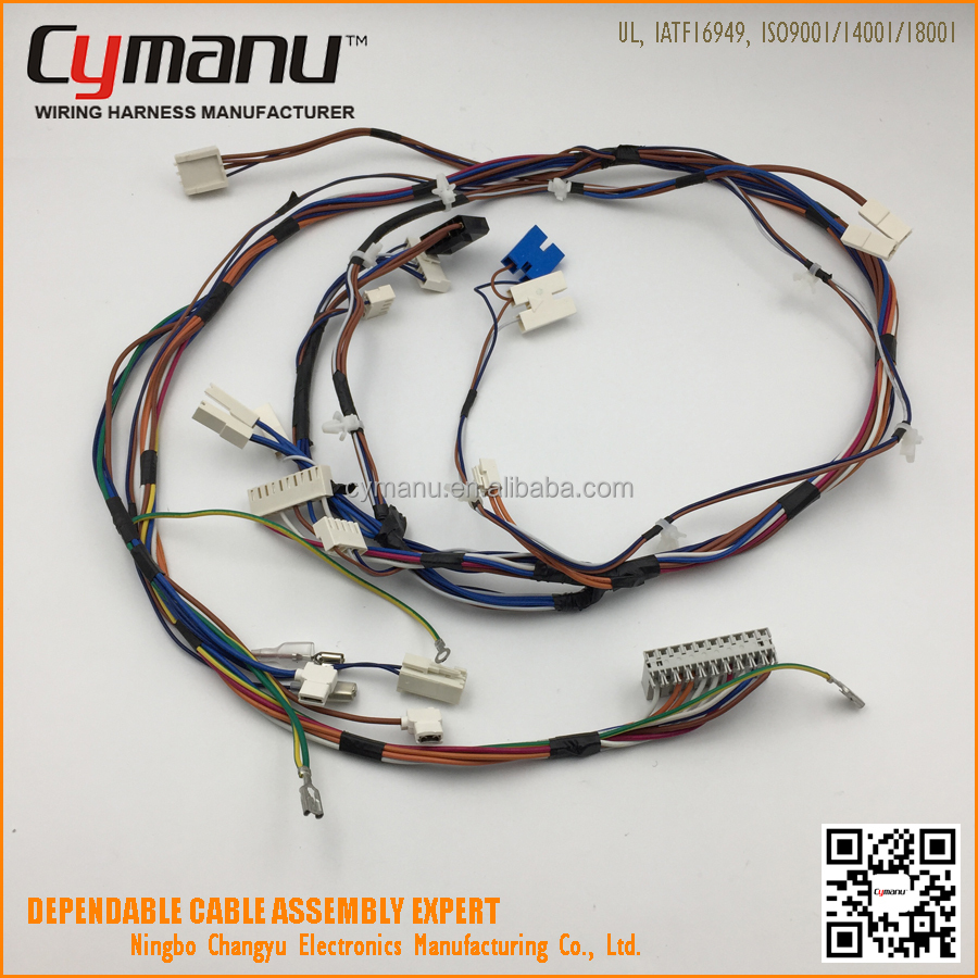 Washing Machine Wiring Harness Trusted Diagrams Manufacturers Fully Automatic Wire Electric Fan