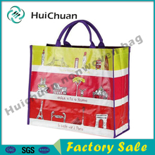 fashion printing pp woven shpping bag