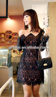 2013 new high fashion elegant lace dress, good quality with low price