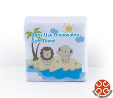 Dry Cotton Wipe For Baby Use Disposable Dry Wipe