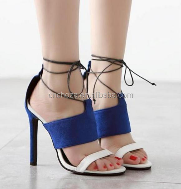 Z56497B new arrival fashion summer ladies footwear high heel shoes women low price ladies sandals