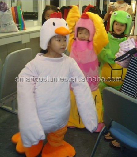 cartoon character animal mascot costumes for kids