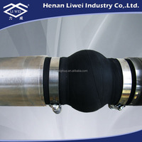 LIWEI Manufacture Clamp Rubber Bellows Expansion Joint Pipe