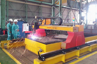 200A High Speed Plasma Sheet And Pipe Cutting Machine