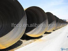 api 5l x 52 carbon API 5L Spiral steel pipe with liquid delivery
