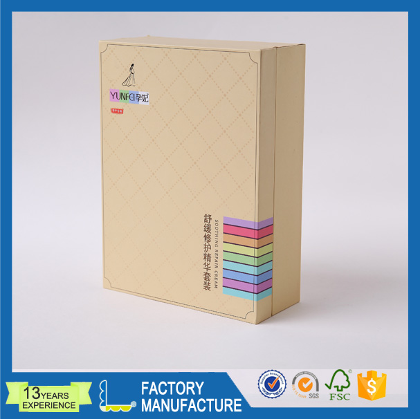 Carboard Paper Boxes Hinged Book Shaped Box Gift Packaging