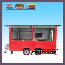 commercial trucks and vans/hot dog booth bike food cart india