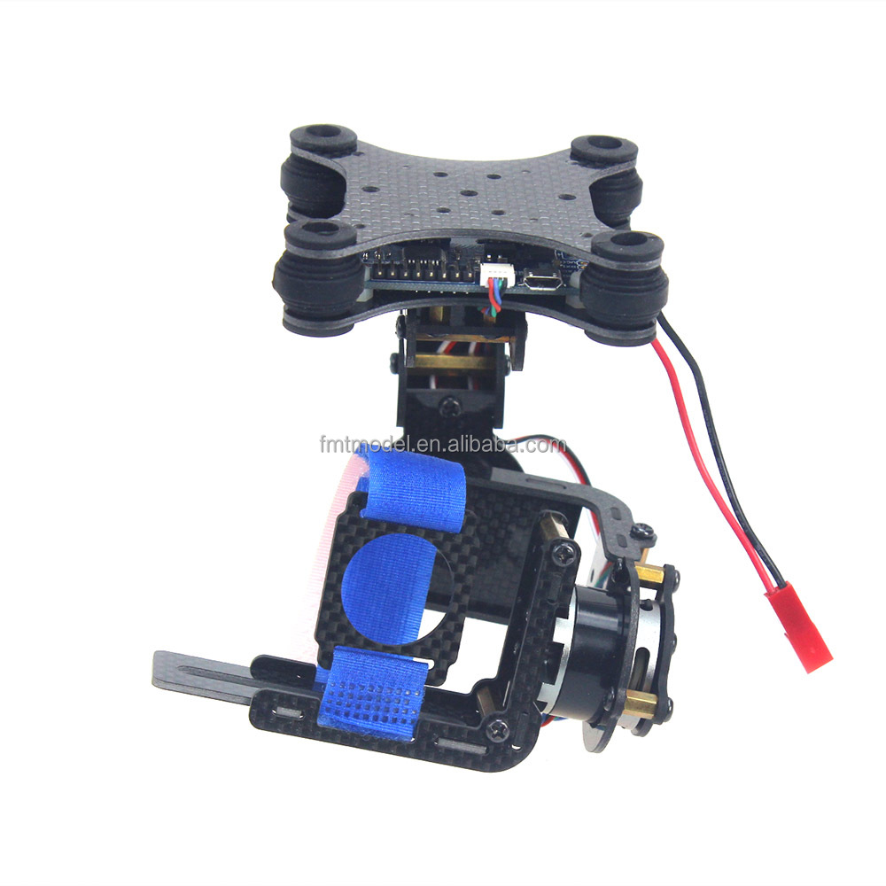 Trending Product Carbon 2 axle Brushless Camera Gimbal PTZ Full Set Plug & Play Controller For FPV DJI Phantom RC Quadcopter
