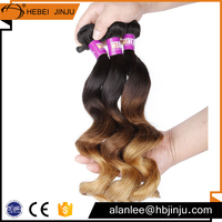 T hair color ombre remy tape virgin brazilian crochet hair extension with baby hair