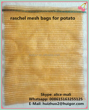 Garlic Raschel Mesh Net Bag For Fruits And Vegetables For Sale