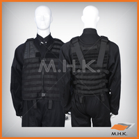 High quality durable Tactical Vest MOLLE System with pouches Waterproof and Flame Retardant,army vest,