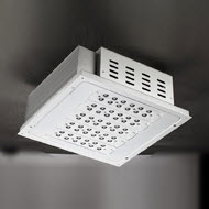 120w LED canopy light gas station light