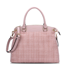 MINANDIO wholesale designer pu leather tote bag hobo office anti-theft bag for ladies and girls
