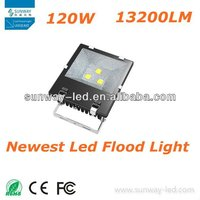 2012 Newest Superior Heat Sink 120w led outdoor flood light,CE&RoHS 3 years warranty