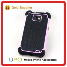 [UPO] Hot Sale Shockproof Hybrid Combo Silicone Plastic Mobile Phone Case for Samsung Galaxy S2 i9100