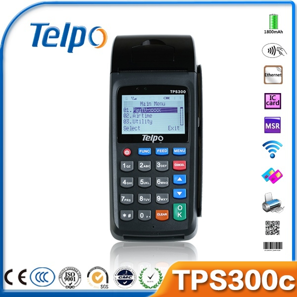 Wireless TPS300C Parking Lot Security Management, Telpo CE Production
