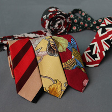 Hot Sell 100% silk Luxury Printed Ties For New Style