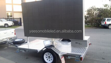 movie playing trailer for outdoor advertising: YES-T4