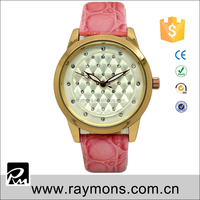 Cheap watch fashion noble design many diamonds decorate 3 luminous hands japan movt quartz hand watch for girl
