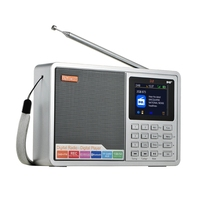 1.8inch LCD color display Digital portable radio dab+ fm radio with bluetooth for Europe
