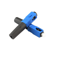 SC/FC/ST/LC Mechanical Pre-embe fiber optic fast connector FTTH SC/PC/UPC/APC quickly connector