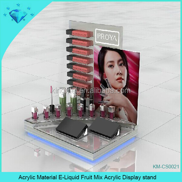 Acrylic Material E-Liquid Fruit Mix Acrylic Display stand