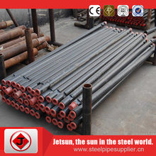 black seamless steel pipe gas and oil drill pipe API Certificate