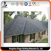 SGB Dimensional Laminated Bitumen Asphalt Shingles / Double Layers Shingle