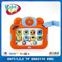 Battery Operated Music Baby Plastic Mini Toy Camera with Light