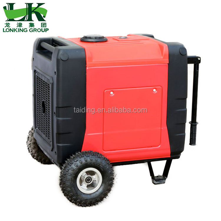 Most popular big power gasoline camping generator 7000w inverter digital generator