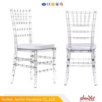 New Model Polycarbonate Pc Ghost Chiavari Chair