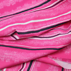 brushed designer plain striped fabric polyester