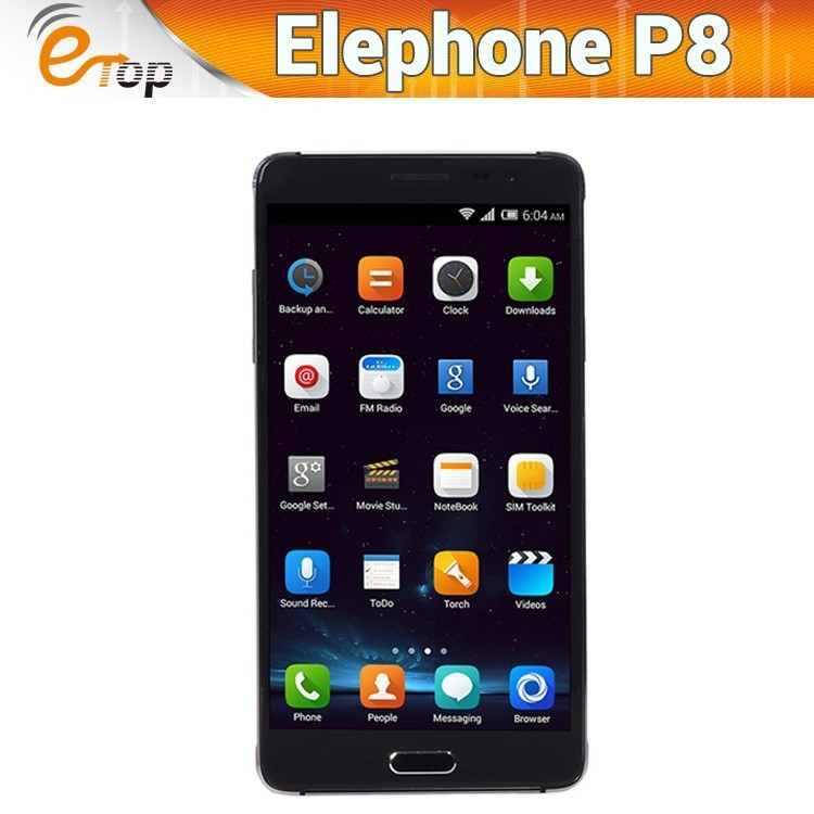 Original 5.7 inch Elephone P8 Pro MTK6592 Octa Core 1.6GHz Android 4.4 Cell Phones 2GB RAM 16GB Dual SIM 13.0MP GPS OTG WCDMA