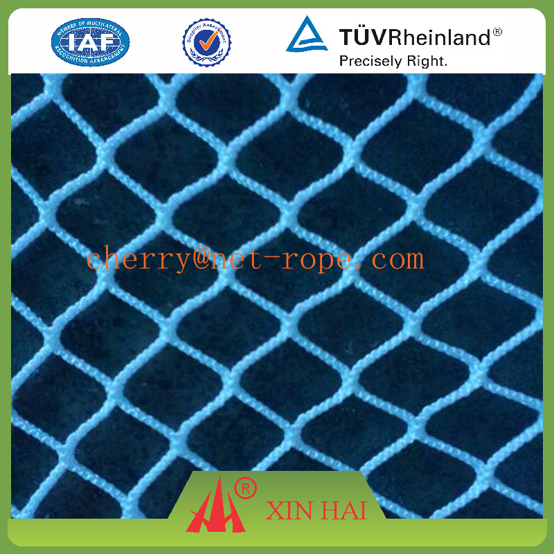 small mesh Polyester knotless fishing nets for bath net