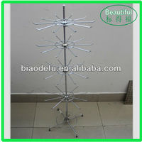 Light Duty Rotating Display Stand with Hanging Hook