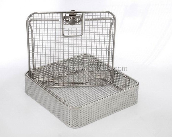 Stainless Steel Endoscope Sterile Container