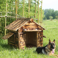 SC0679 hot sale new design large wooden dog house