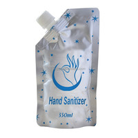 350 500ml hand sanitizer gel bag