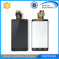 Taoyuan For lg e975 lcd display with touch screen digitizer, for lg optimus g e975 lcd display screen