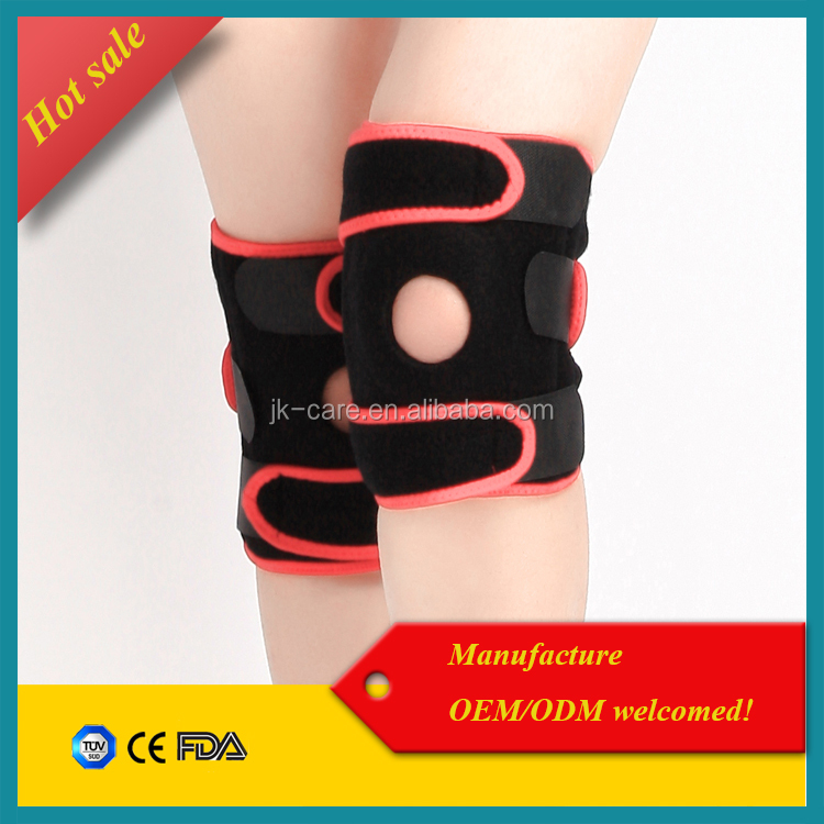 Adjustable hot neoprene Knee wraps / Knee strap / Knee support brace for sports knee joint protection