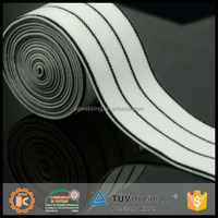 High strength personalized design unerburst elastic anti slip elastic tape with high quality